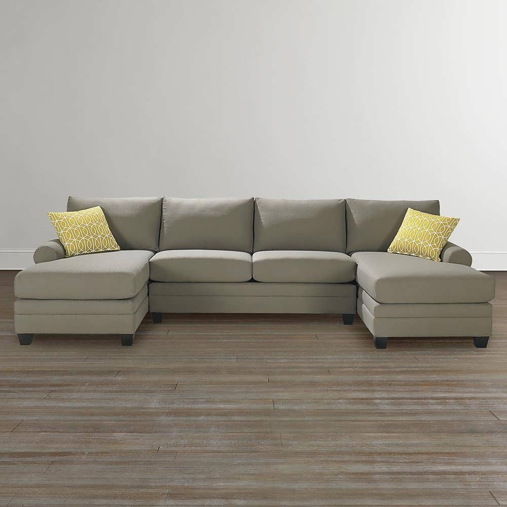 Sofa : Curved Sectional White Sectional Sofa Double Chaise With Regard To Preferred Double Chaises (View 14 of 15)