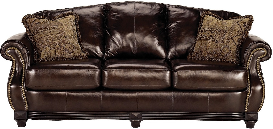 Featured Photo of The Brick Leather Sofas