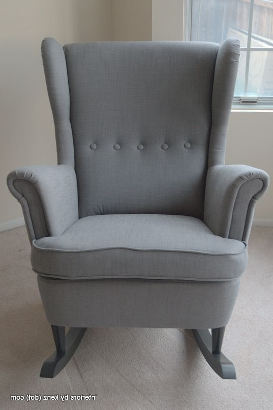 Sofa : Exquisite Grey Rocking Chair For Nursery Sofa Grey Rocking Intended For Most Up To Date Rocking Sofa Chairs (View 5 of 10)