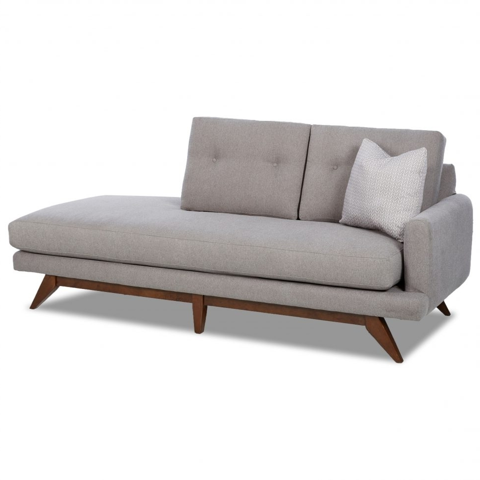 Contemporary Chaise Lounge Sofa: 15 Collection Of Mid Century Modern Chaise Lounges