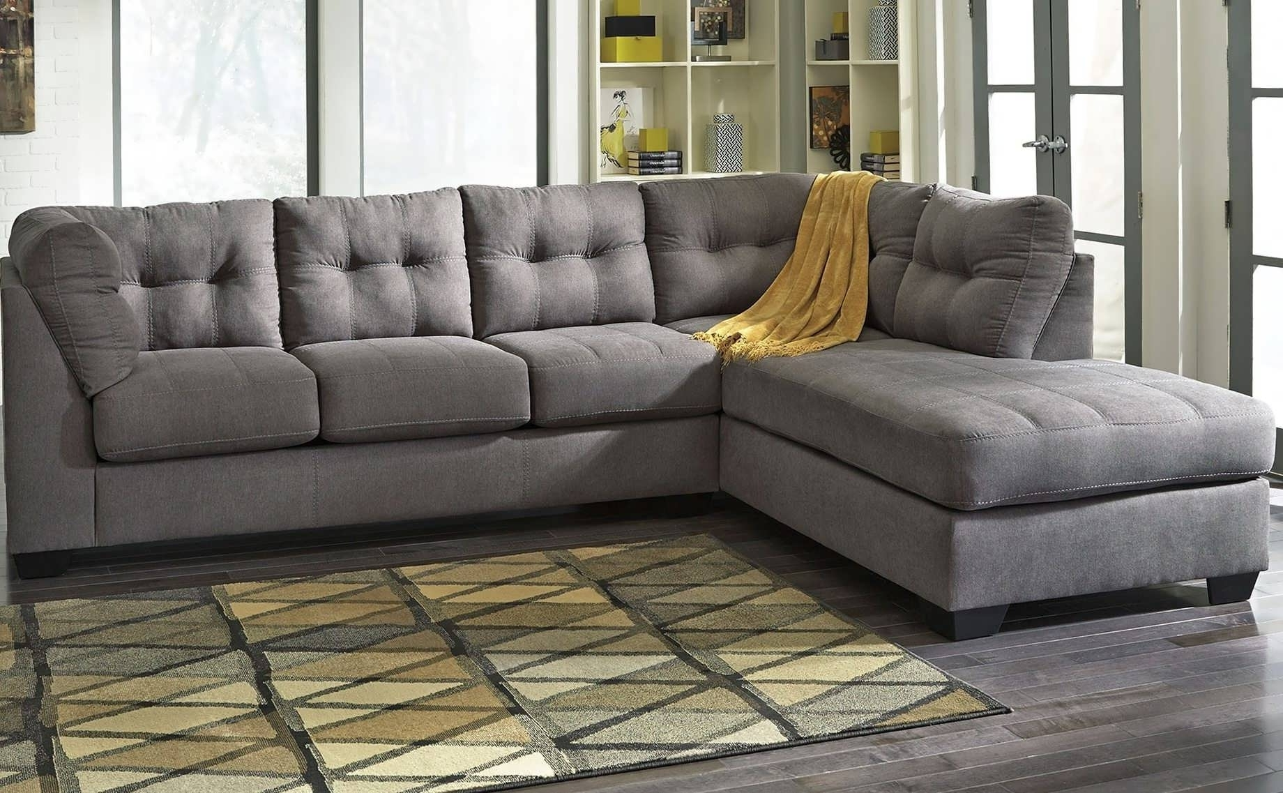 Sofa : Grey Sectional With Chaise Oversized Sectional Sofa White With Regard To Current Grey Sectional Sofas With Chaise (View 15 of 15)