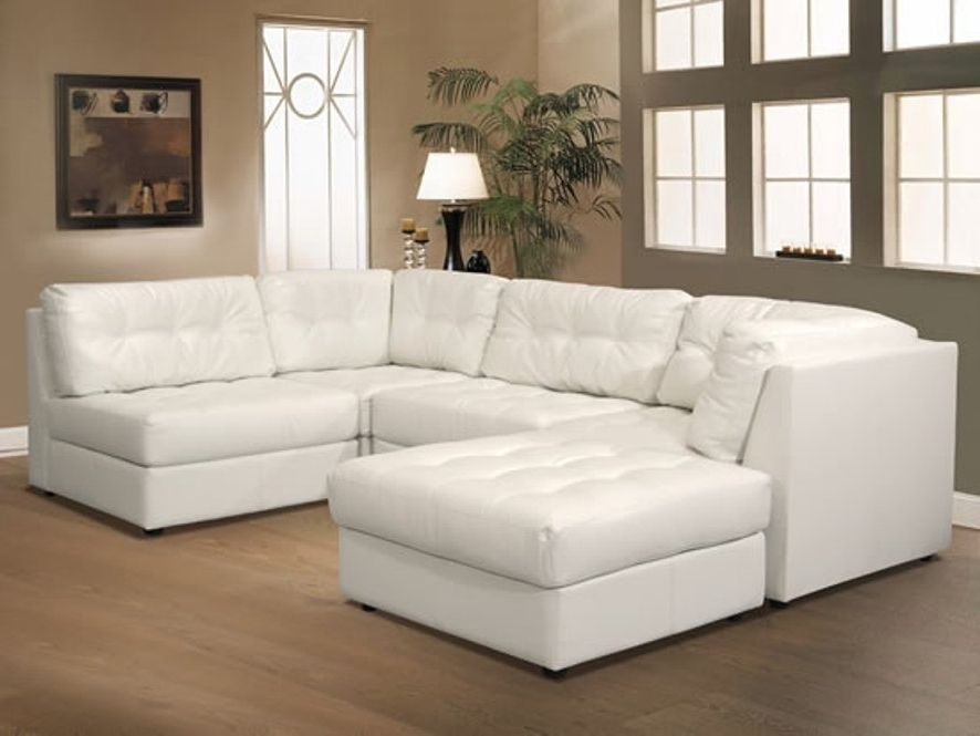 Sofa White Lounger Fabric Contemporary Leather Modular Sectional In 2018 Leather Modular Sectional Sofas (View 9 of 10)