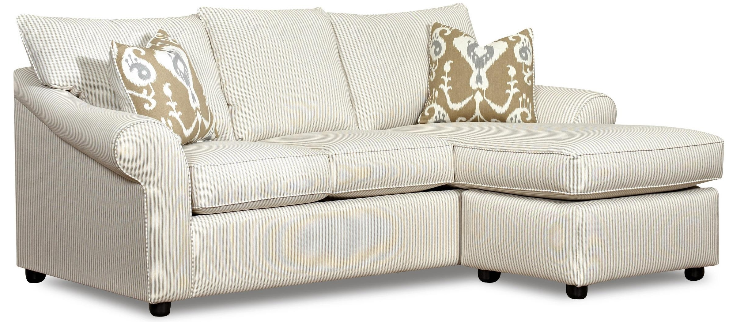 Sofas With Chaise Lounge With Regard To Latest Sofa With Reversible Chaise Loungeklaussner (View 6 of 15)