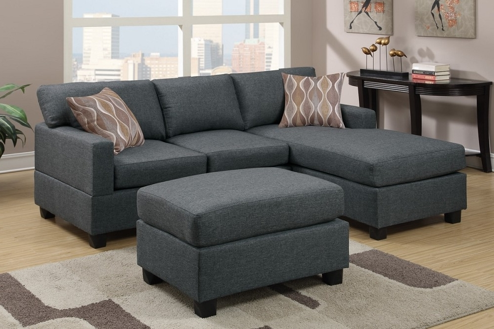 Sofas With Ottoman Inside Current Sectional Sofas With Ottoman – Visionexchange (View 8 of 10)