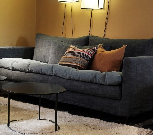 Sofas With Washable Covers Throughout Famous Contemporary Sofa / Fabric / 3 Seater / With Washable Removable (View 7 of 10)