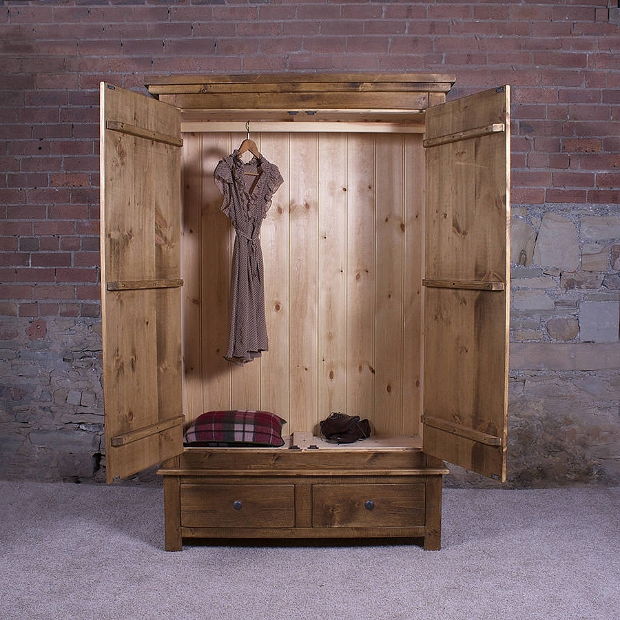 Featured Photo of Cheap Solid Wood Wardrobes