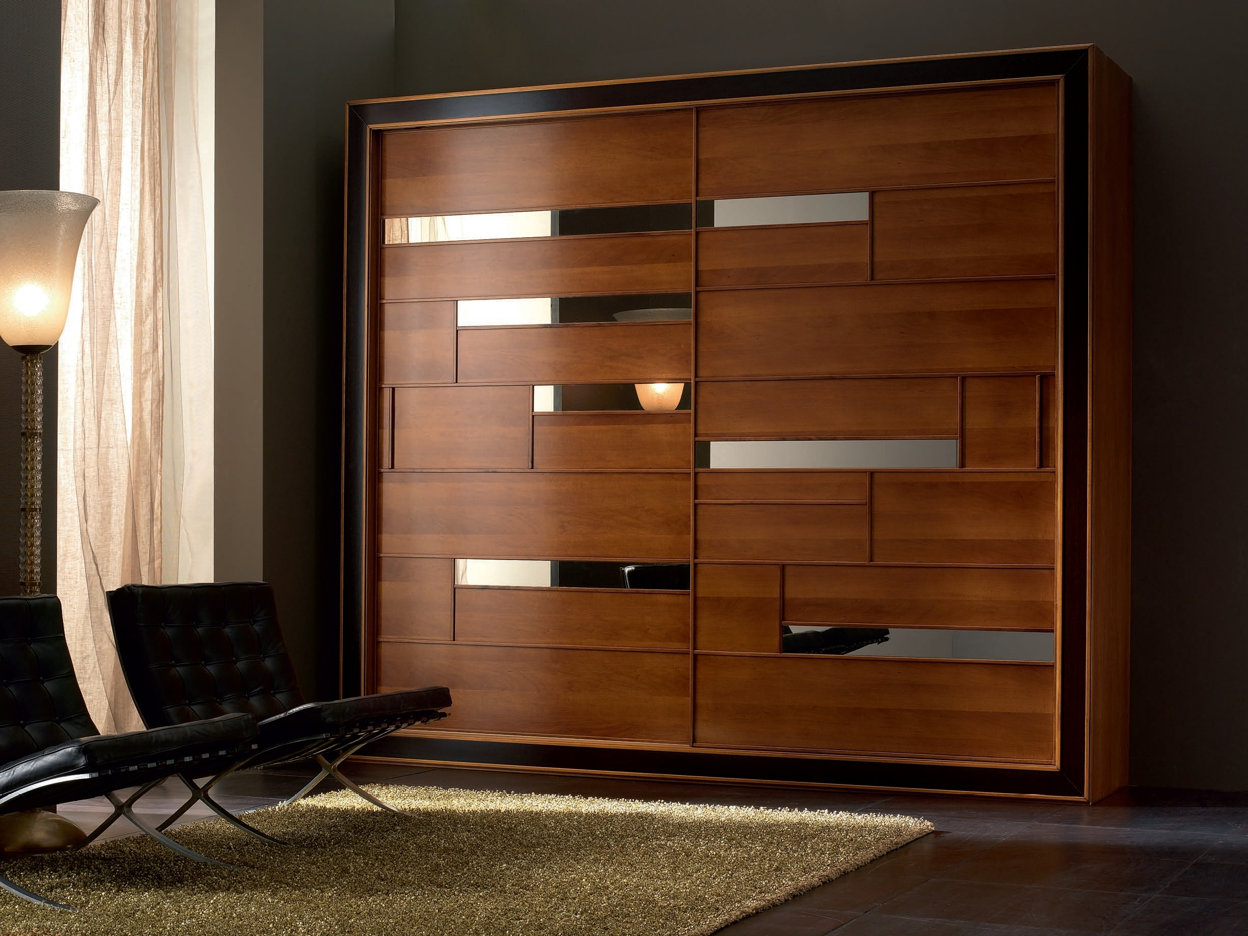 Solid Wood Fitted Wardrobes White Wardrobe Dark You Must See This Throughout Fashionable Wood Wardrobes (View 9 of 15)