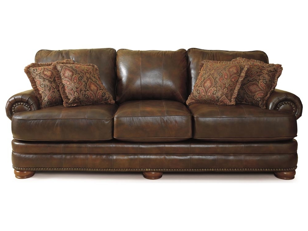 Stanton Leather In Lane Furniture Sofas (View 9 of 10)
