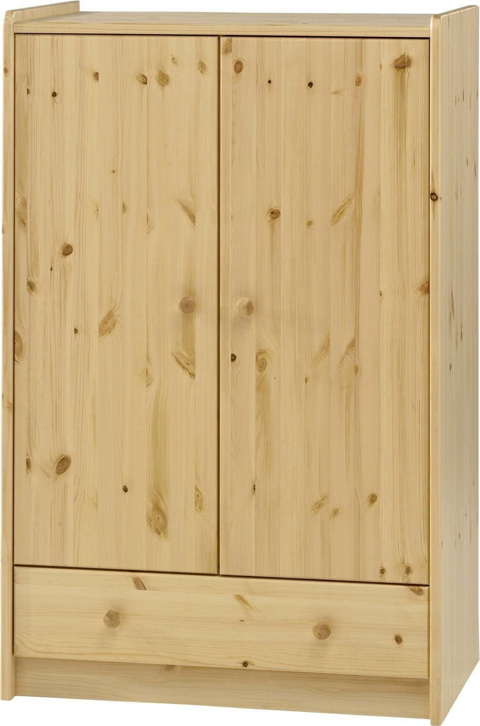 Steens For Kids Pine Low Wardrobe Intended For Most Current Natural Pine Wardrobes (View 2 of 15)