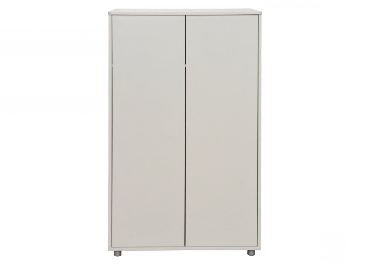 Stompa Wardrobes Intended For Best And Newest Stompa Unos Short Wardrobe – White – Wardrobes – Furniture (View 3 of 15)