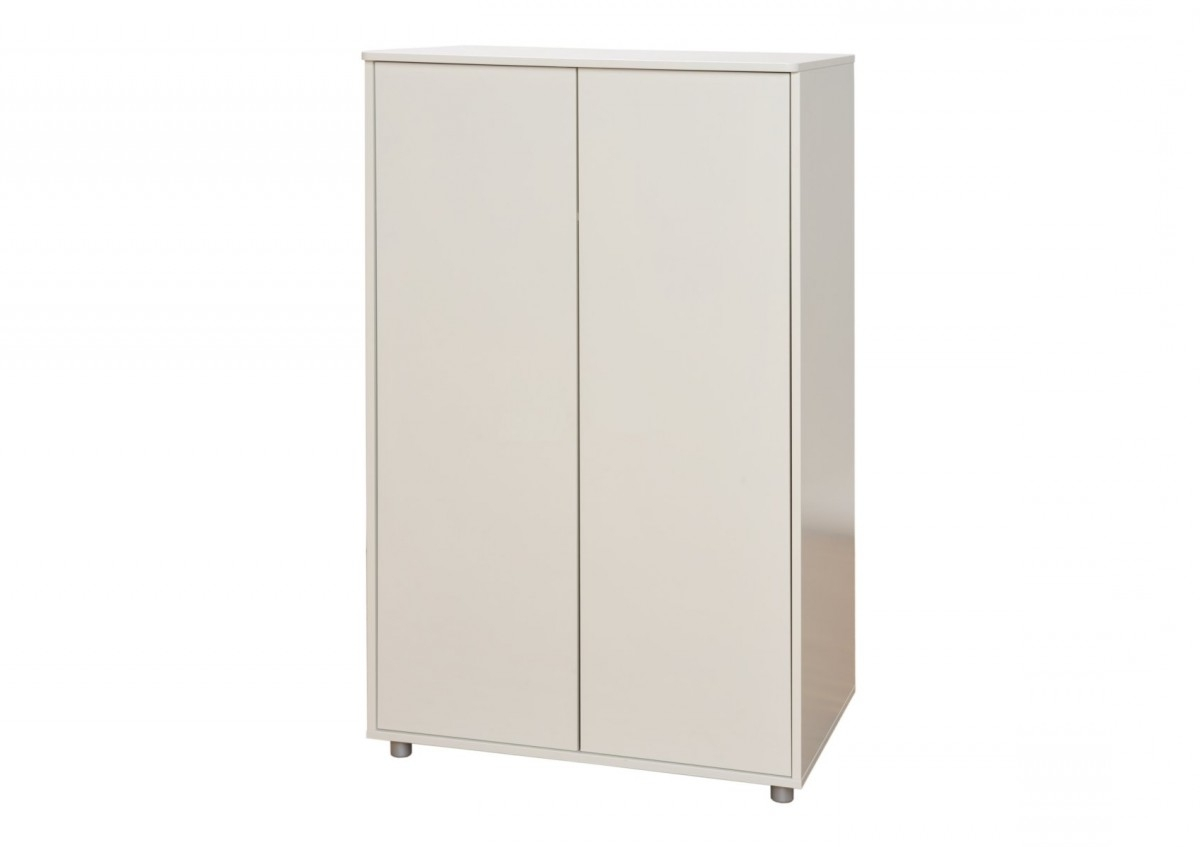 Stompa Wardrobes Pertaining To Popular Stompa Unos Short Wardrobe – White – Wardrobes – Furniture (View 12 of 15)