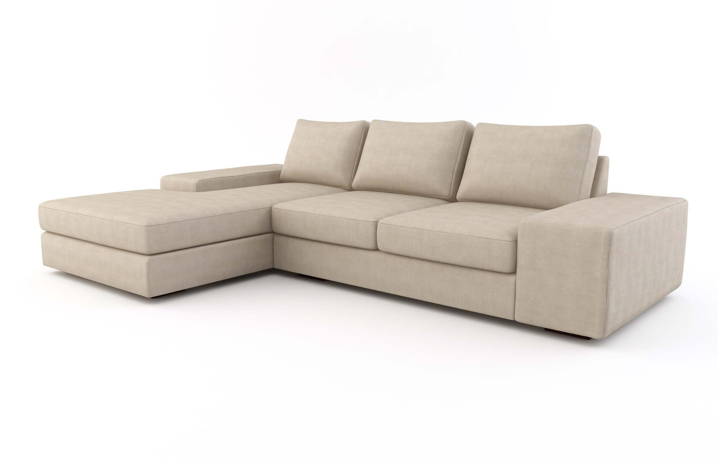 Strata Chaise Sectional W/ Sofa Bed (View 15 of 15)