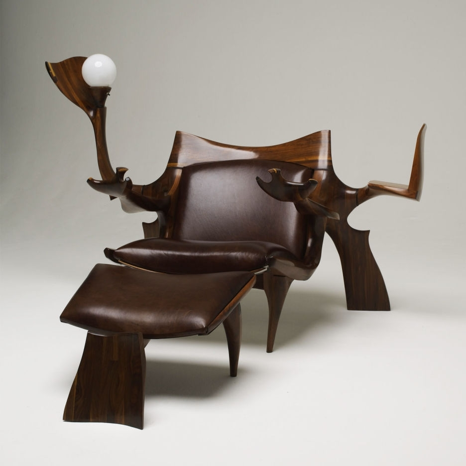 Stylish Leather Chaise Lounge Chair — Bed And Shower : Repair A In Popular Leather Chaise Lounges (View 12 of 15)