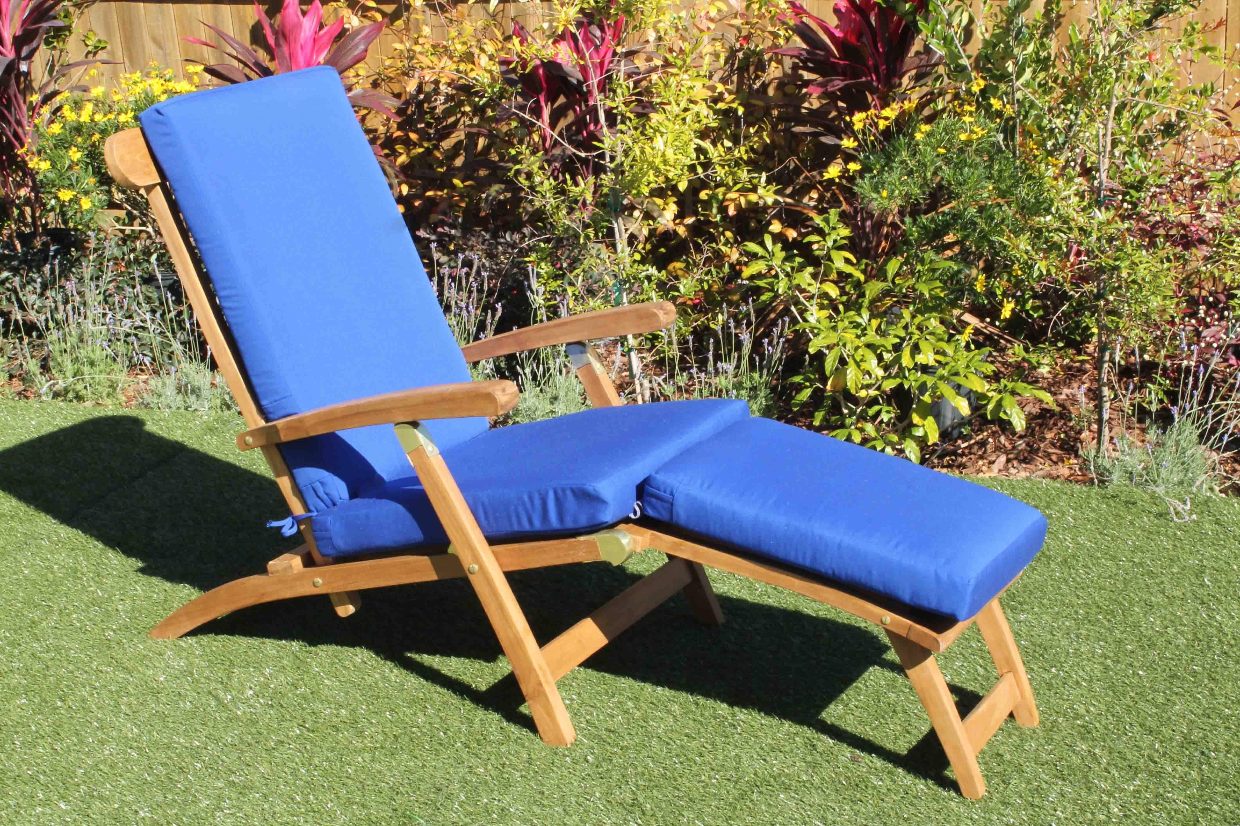 Sunbrella Chaise Cushions Within Preferred Chaise Lounges (View 12 of 15)