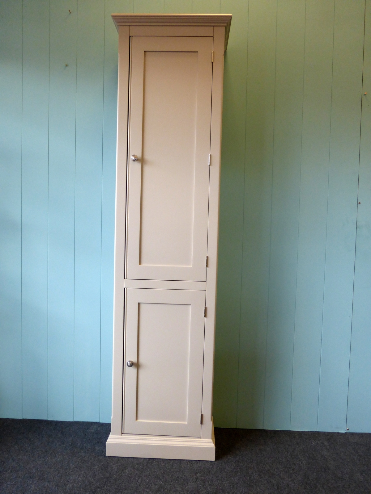 Tall Narrow Cupboard – Painted – Wardrobes – Pine Shop Bury Inside 2018 Tall Wardrobes (View 8 of 15)