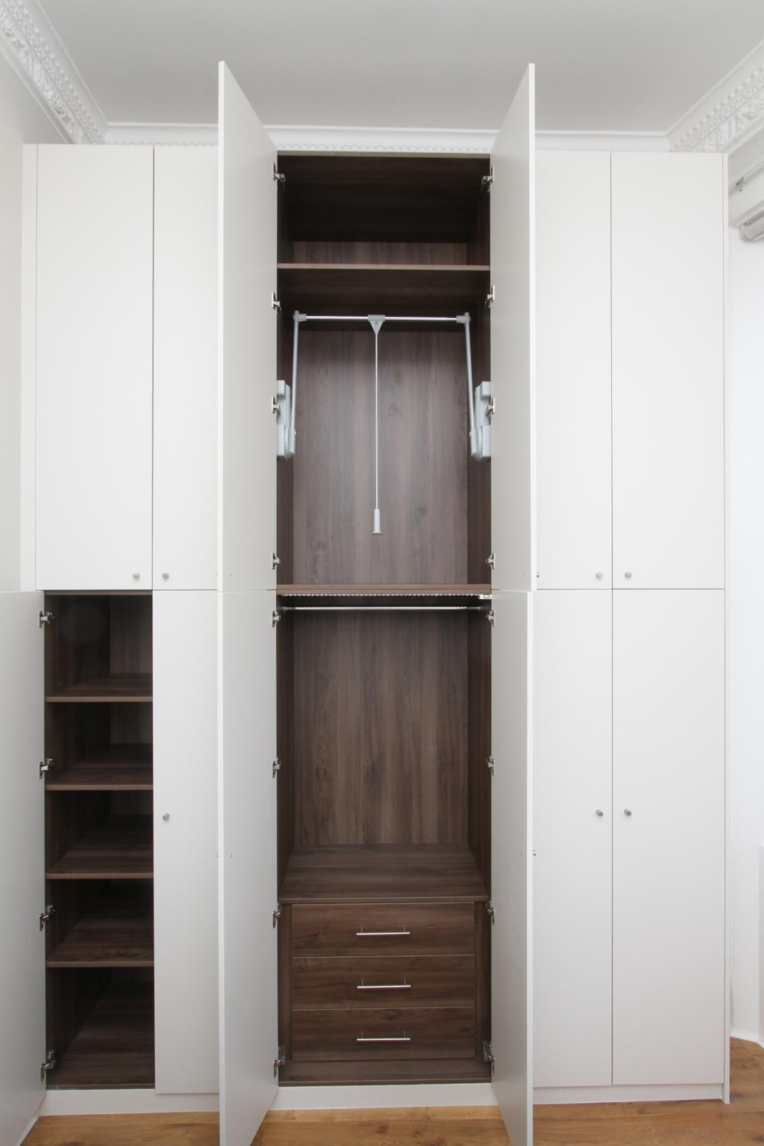 Tall Wardrobes Regarding Famous Fitted Wardrobes – Fitted And Fancyempatika (View 11 of 15)