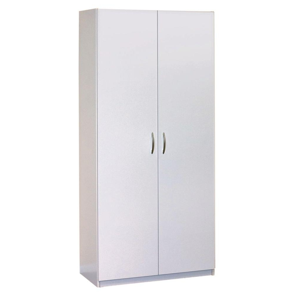 Tall White Wardrobes With Regard To Well Known Closetmaid 30 In (View 13 of 15)