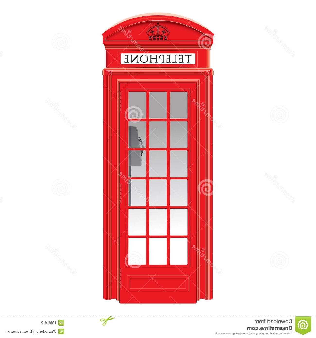 Telephone Box Wardrobes Intended For Recent Red Telephone Box – London – Very Detailed Stock Photo – Image Of (View 11 of 15)