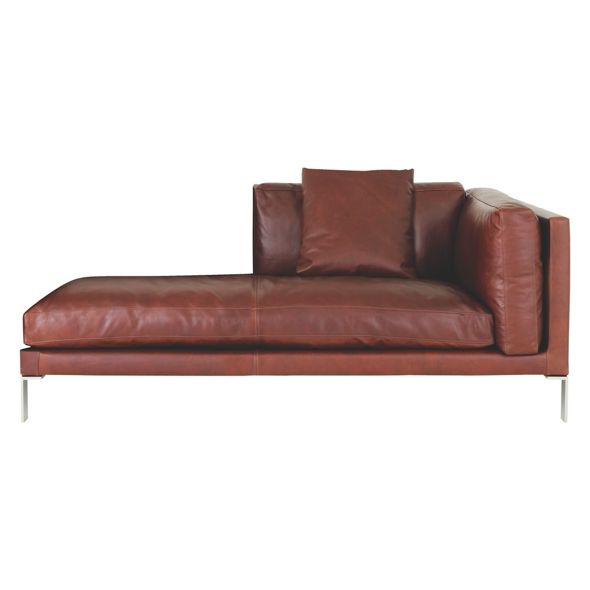 Terrific Tan Leather Chaise Lounge 45 With Fabulous Chaises In Most Current Leather Chaises (View 15 of 15)