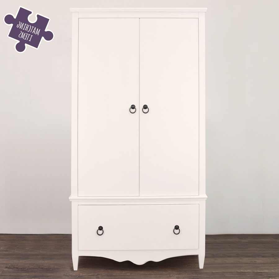 The Princess Wardrobes Intended For 2018 Girls Wardrobe White – Princess (View 7 of 11)