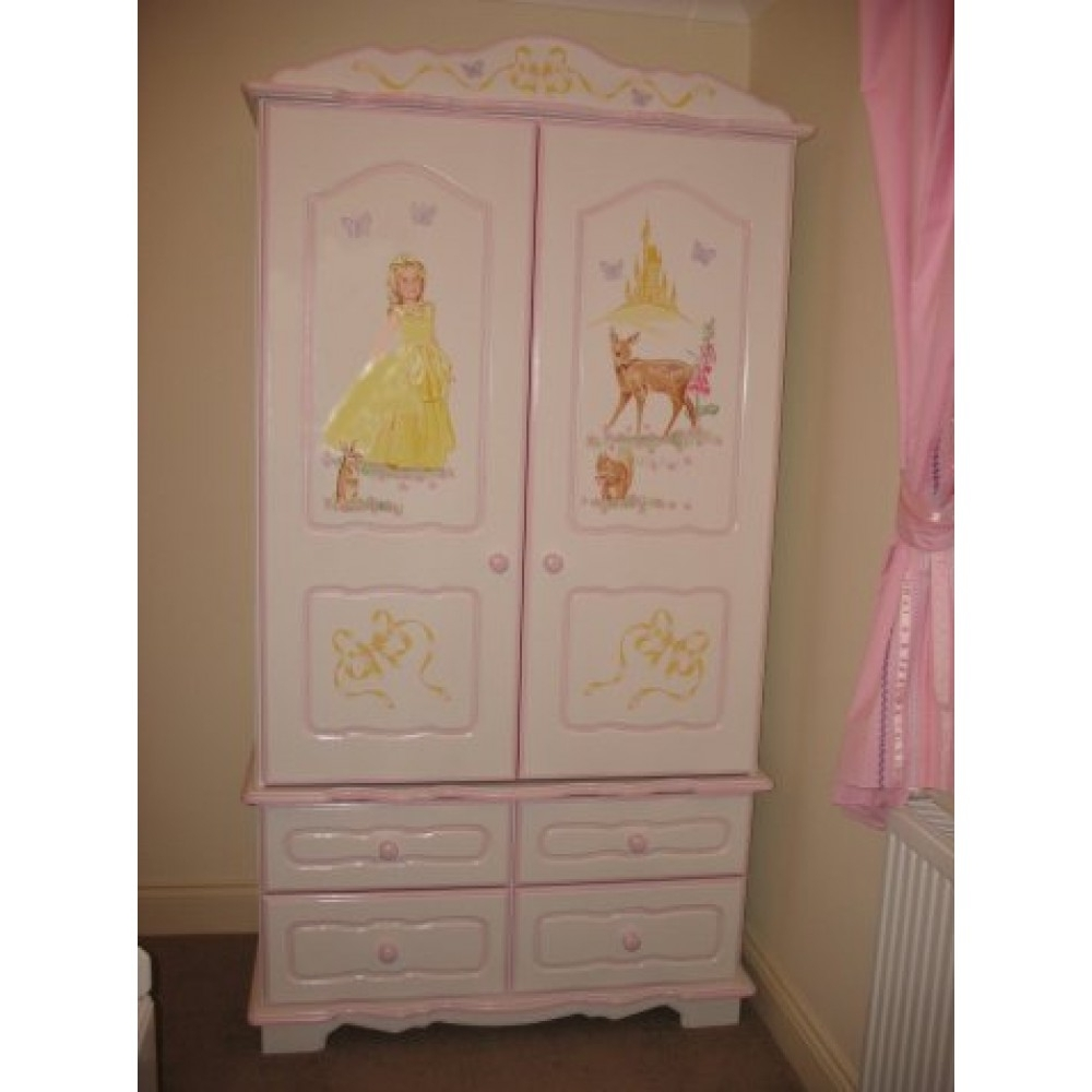 The Princess Wardrobes Intended For Best And Newest Wardrobe 2 Door – 4 Drawer Princess (View 8 of 11)