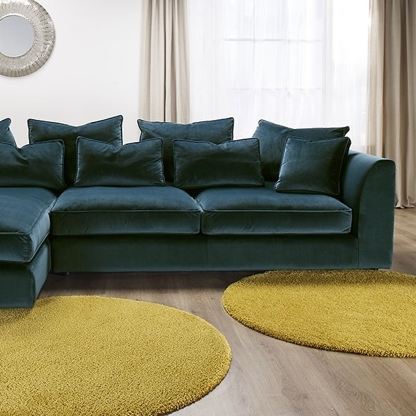 The Striking Harrington Large Chaise Sofa Is A Fantastic Addition For Best And Newest Long Chaise Sofas (View 9 of 10)