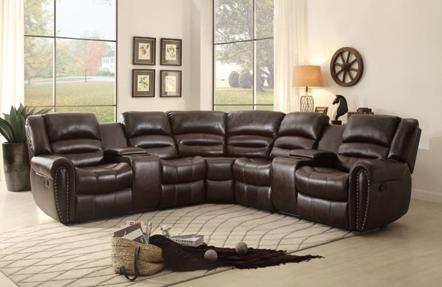 Top 10 Best Reclining Sofas (2018) Regarding Newest 2 Seat Sectional Sofas (View 13 of 15)