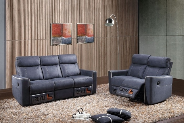 Top Selling Wholesale Living Room European Style Sectional Sofa Throughout Recent Sectional Sofas With Electric Recliners (View 9 of 10)