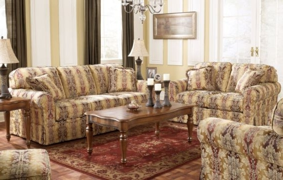 Traditional Fabric Sofas In Most Up To Date Traditional Fabric Furniture Designs (View 4 of 10)