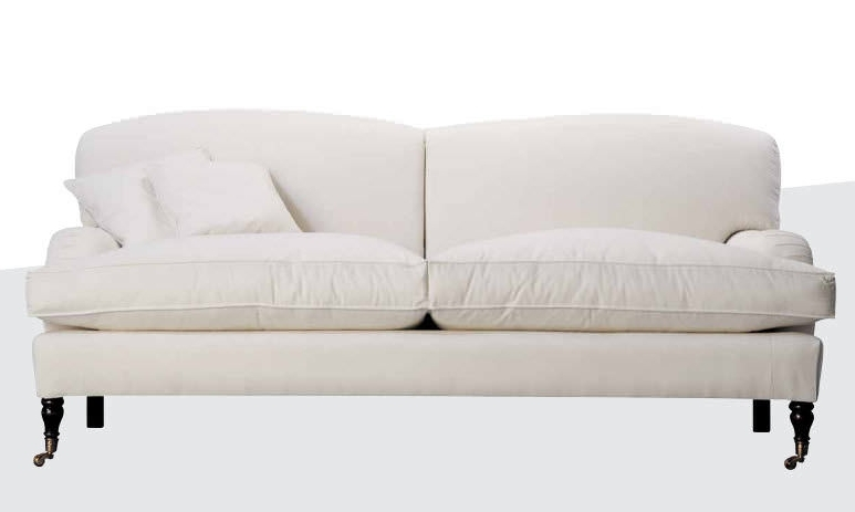 Traditional Sofa / Fabric / White – Oxford – Gastón Y Daniela With Regard To Most Popular Oxford Sofas (View 7 of 10)