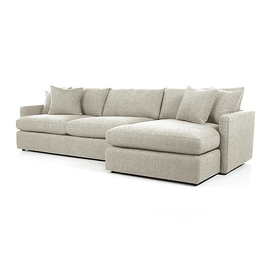 Trendy 2 Seat Sectional Sofas In Lounge Ii 2 Piece Sectional Sofa (View 13 of 15)