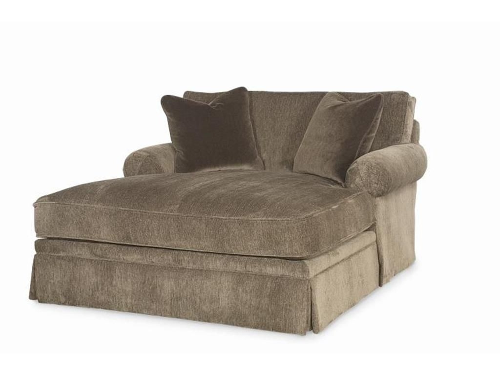 Trendy Awesome To Use Comfortable Double Chaise Lounge Indoor The Chaise Intended For Double Chaise Lounges For Living Room (View 3 of 15)