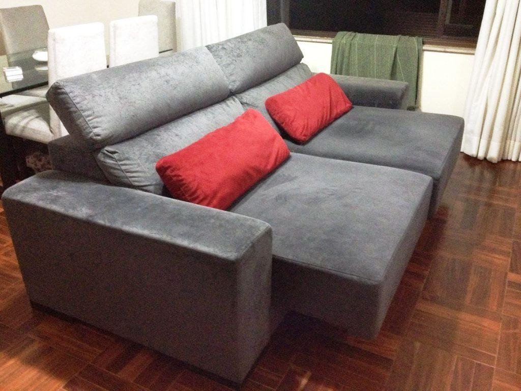 Trendy Chaise Loveseats Intended For Loveseat With Chaise Lounge – Loveseat Chaise Lounge Sofa (View 4 of 15)