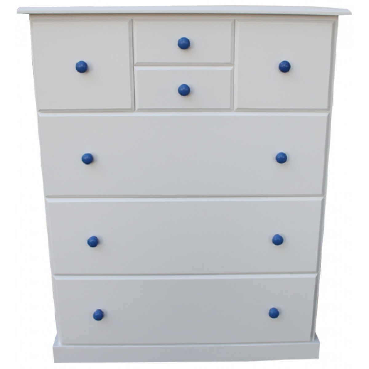 Trendy Childrens Tallboy Wardrobes With Regard To Buy Federation Split 7 Or 6 Drawer Kids Tallboy Online In (View 9 of 15)