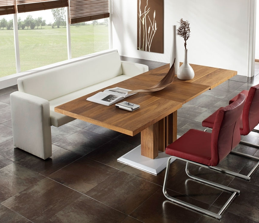 Trendy Contemporary Sofa Dining Tables – Wharfside Contemporary Furniture Regarding Sofa Chairs With Dining Table (View 9 of 10)