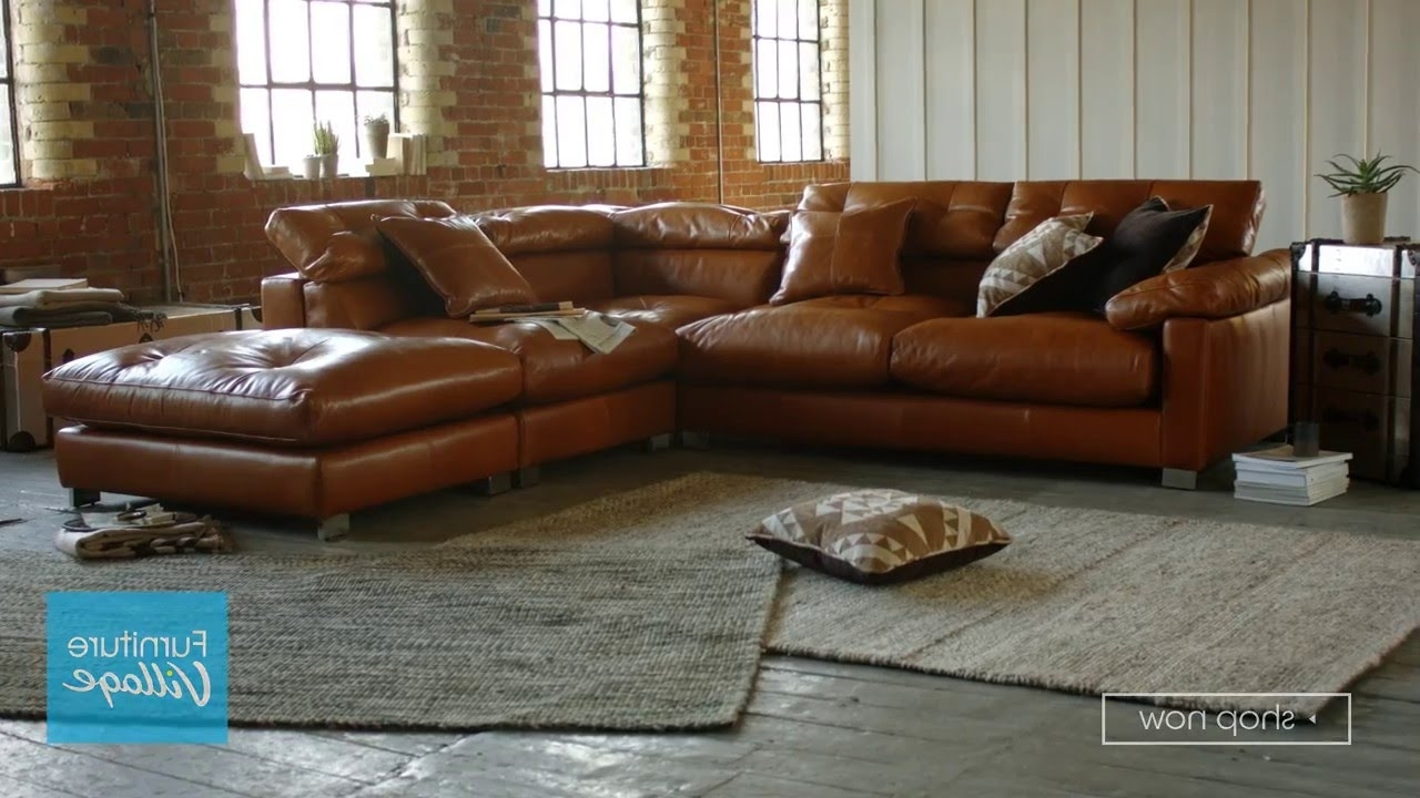 Trendy Corner Chaise Leather Sofa – Fusion (View 3 of 15)