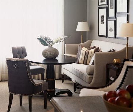 Trendy Dining Sofa Chairs Pertaining To Dining Sofa – Contemporary – Living Room (View 10 of 10)