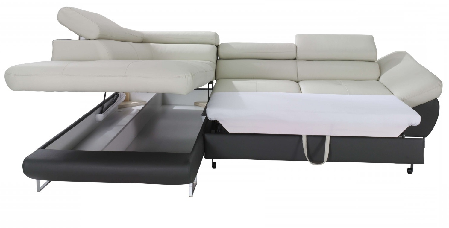 Trendy Fabio Sectional Sofa Sleeper With Storage (View 11 of 15)