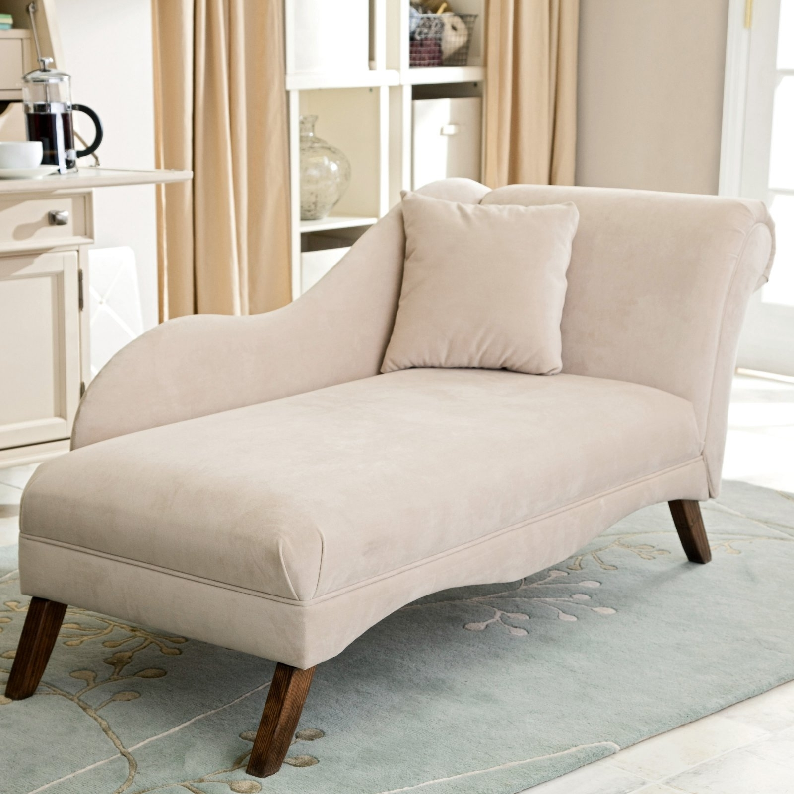 Featured Photo of Fabric Chaise Lounge Chairs