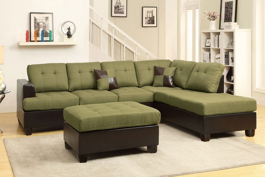Trendy Green Sectional Sofas With Chaise With Regard To Sectional Sofa (View 7 of 10)