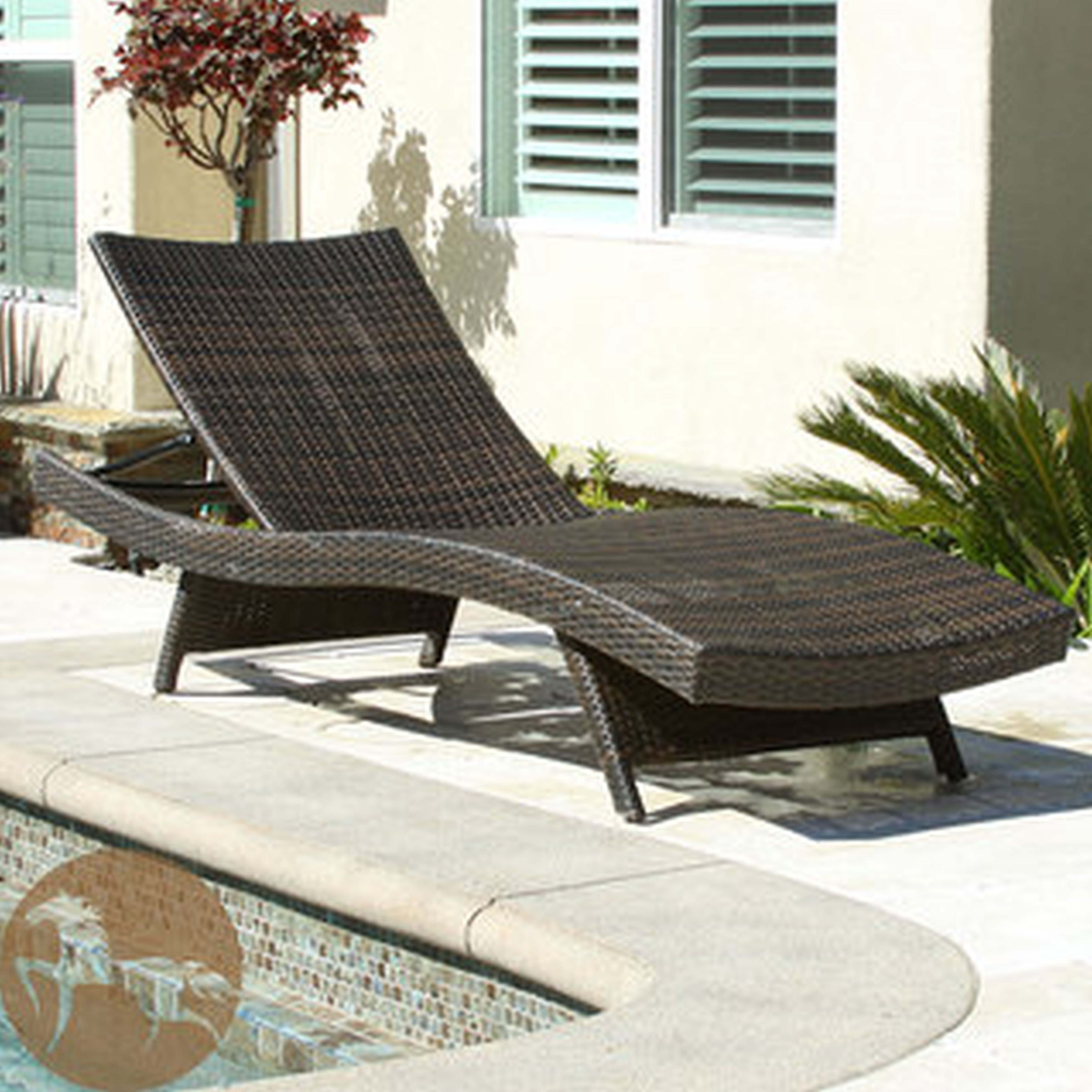 Trendy Grey Wicker Chaise Lounge Chairs With Regard To Lounge Chair : Gray Wicker  Chaise Lounge