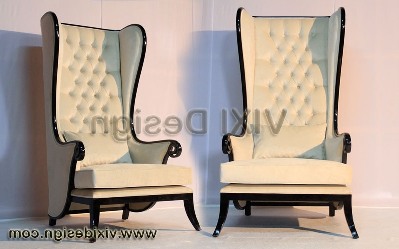 Trendy High Back Gothic Throne Chairs (View 9 of 10)