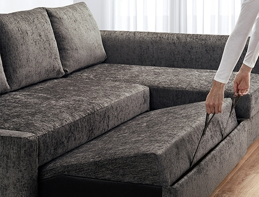 Trendy Ikea Corner Sofas With Storage Inside Corner Sofa Beds, Futons & Chair Beds (View 9 of 10)