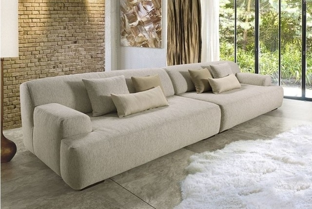 Trendy Large Sofas For Comfort Of Guests – Designinyou/decor With Regard To Large Sofa Chairs (View 9 of 10)