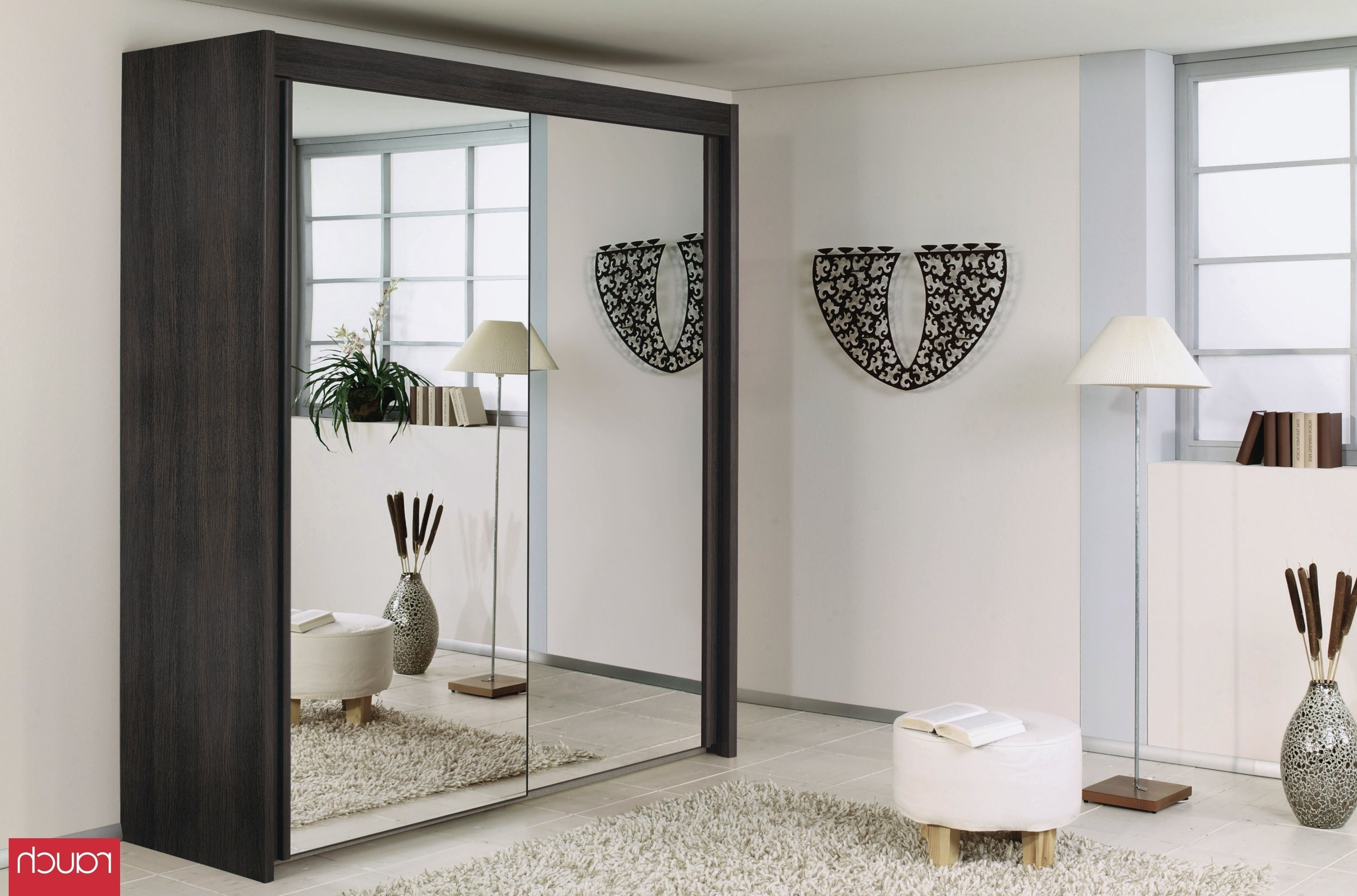 Trendy Rauch Imperial Wardrobes Regarding Rauch Imperial Wenge Shiraz 2 Door Sliding Wardrobe – W 201cm H 223cm (View 5 of 15)