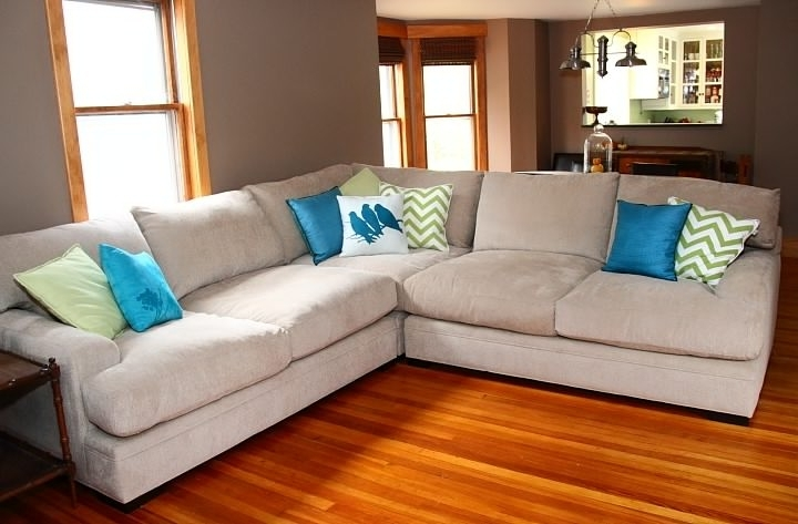 Trendy Sectional Sofa Design: Deep Sectional Sofas Recliners Chaise Sale Regarding Deep Cushion Sofas (View 7 of 10)