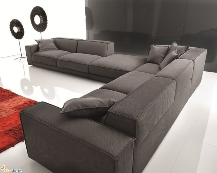Trendy Sectional Sofa Design: Down Sectional Sofa Blend Wrapped Goose Pertaining To Goose Down Sectional Sofas (View 9 of 10)