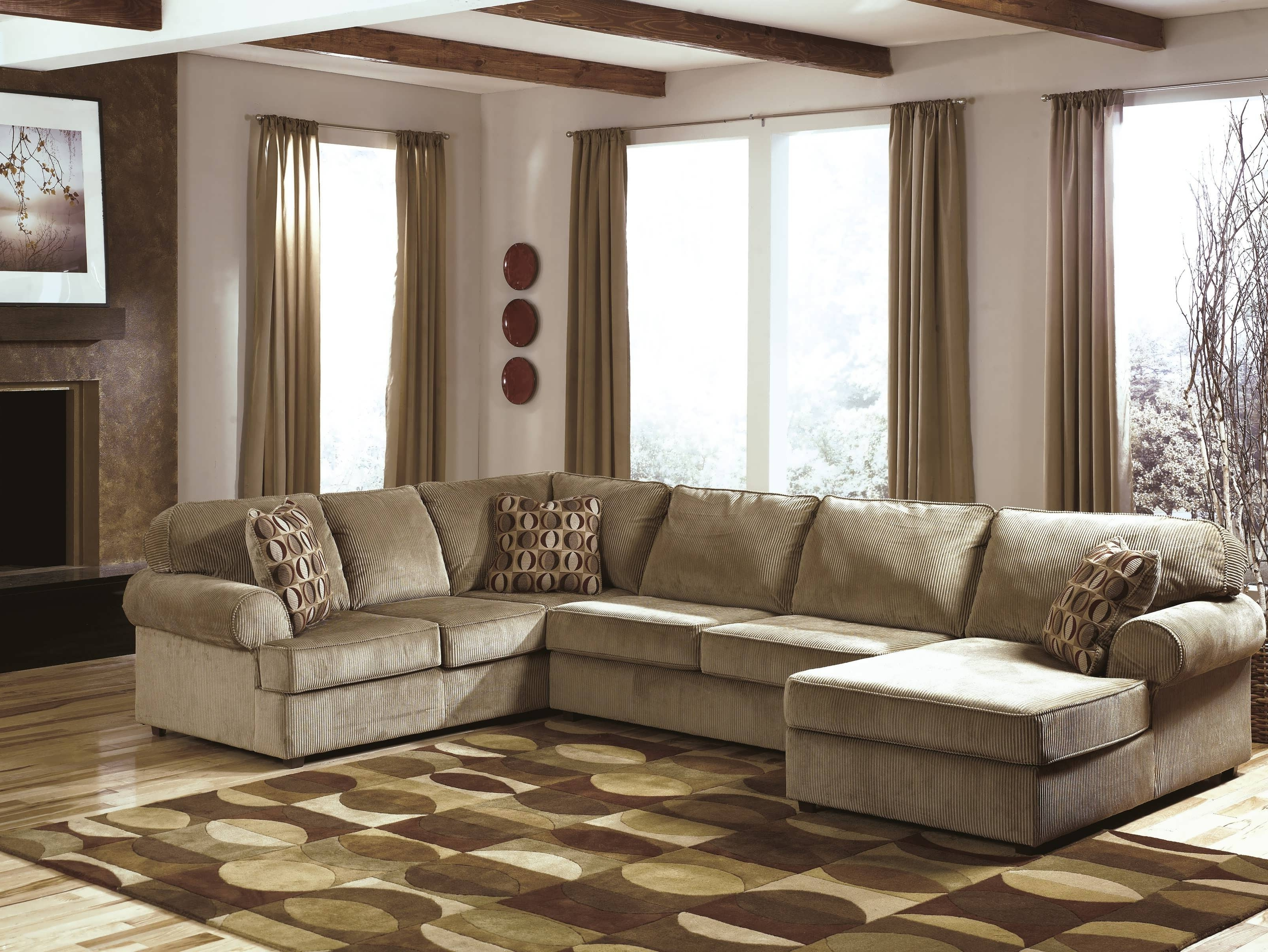 Trendy Sofa : Modular Sectional Sofa Reclining Sectional Couch Sectionals Intended For Double Chaise Sectionals (View 15 of 15)