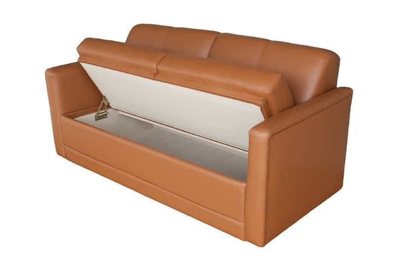 Trendy Storage Sofas Throughout Yacht Sofa / With Storage Compartment – Companion 53 S60B (View 3 of 10)