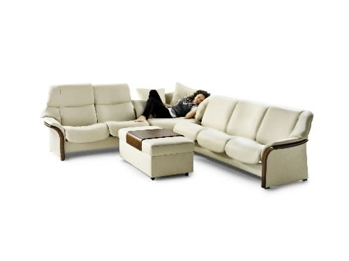Trendy Stressless Granada High Back Leather Ergonomic Sofa Couch Throughout Ergonomic Sofas And Chairs (View 10 of 10)